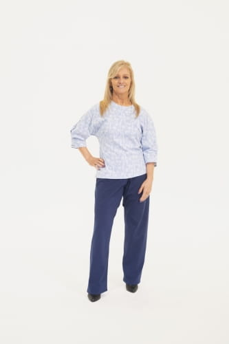 The Liddy Blouse - Lose Fit Velcro Top